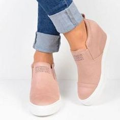 91cac646f9a  AdoreWe  Shoespie -  Shoespie Shoespie Trendy Low-Cut Upper Platform Round  Toe Casual Sneakers - AdoreWe.com