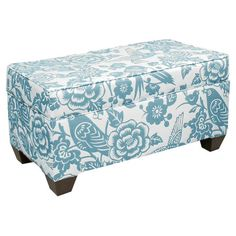 Pull this handmade storage bench up to the coffee table to create a quick conversation group when guests arrive, or let it add definition at the foot of your...