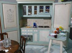 cucine a scomparsa, mini cucine monoblocco   moderne, colors and ... - Cucina Piccoli Spazi
