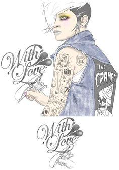 Tattoo Illustrations by Rik Lee