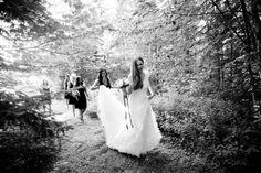 forest wedding // susan moss photography