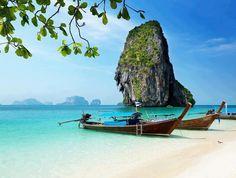Railay beach, Thailand #travel #thailand #bangkok