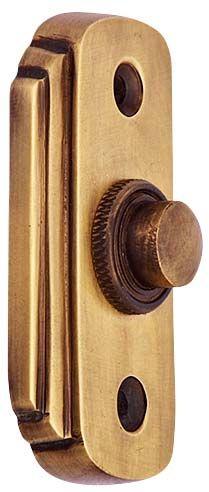 2 1/2 inch Solid Brass doorbell button (Antique brass finish)