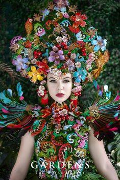 "Projekt ""The Royal Beauty. Royal Beauty, Floral Wreath, Crown, Wreaths, Creative, Composition, Gardens, Women, Fashion"