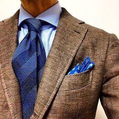 The GafaPasta Troupe sur Instagram: Brown & blue by kuni9209