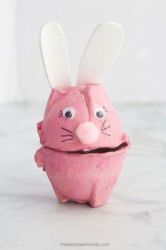 Egg Carton Easter Craft