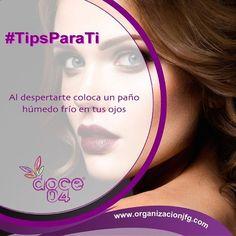 #TipsParaTi Elimina las ojeras... #doce04 #Tips #Belleza #Eyes