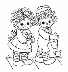 Raggedy Ann Instant Download Machine Embroidery Designs