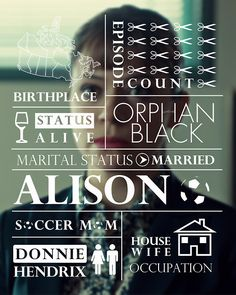 alison Orphan black