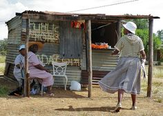 Spaza (tuck shop) - North West province, South Africa