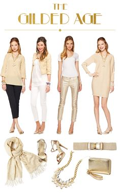 Lilly Pulitzer Fall '13- Gold Glam
