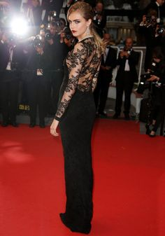 Cara Delevingne shone on the Great Gatsby premiere red carpet