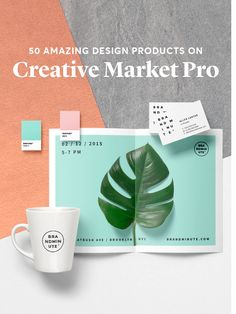 50 Exceptional Design Assets in Creative Market Pro