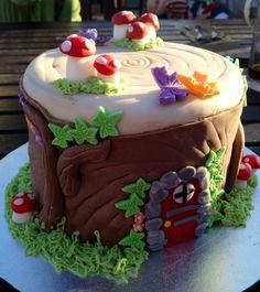 Woodland Fairytale Cake.