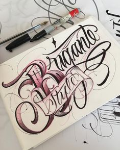 Tattoo Lettering Bible : tattoo, lettering, bible, Shorty, Ideas, Tattoo, Lettering, Fonts,, Tattoos,