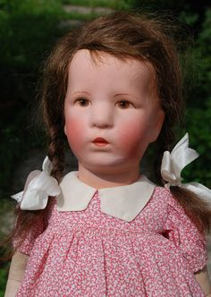 Käthe Kruse Puppe Ilsebill 52 cm m. Stoffkopf 1930er Jahre | eBay