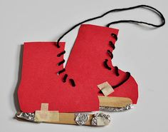 Children's Learning Activities: Ice Skate Craft