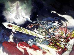 Magic Knight Rayearth - Shidou Hikaru, Ryuuzaki Umi, Hououji Fuu