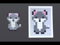 Laceys Crafts is all about sharing super simple and adorable crafts for kids. Perler Bead Designs, Perler Bead Templates, Hama Beads Design, Diy Perler Beads, Perler Bead Art, Melty Bead Patterns, Pearler Bead Patterns, Perler Patterns, Beading Patterns