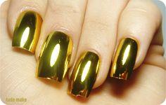 Metallic Nails - Unhas metálicas - tudo make 03