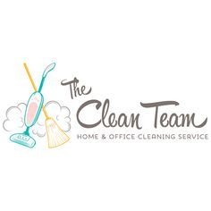 premade logo design cleaning logo