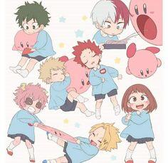 My Hero Academia Shouto, Hero Academia Characters, Bakugou And Uraraka, Bakugou Manga, Familia Anime, Tsuyu Asui, Anime Lindo, Anime Child, Image Manga