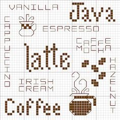 Lots of free cross stitch charts at Cross Stitch Happy