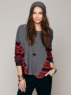 NWT-Free-People-Beautiful-Sinner-Pullover-Shirt-Sweatshirt