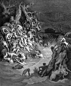 World Destroyed by Water — Gustave Doré