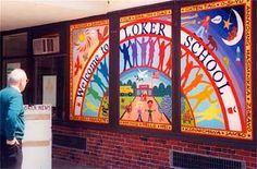 Murals, muralist, mural artist, mosaics, mosaic artist, mosaic classes, Joshua Winer