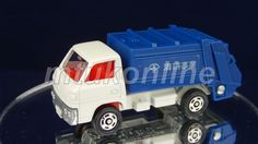 TOMICA 047D MITSUBISHI CANTER REFUSE TRUCK | 1/72 | JAPAN | 047D-01 | FIRST