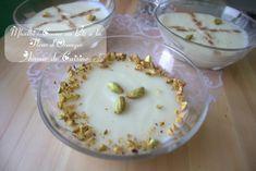 Mhalbi constantinois: creme dessert au riz en video - Amour de cuisine