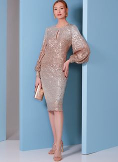 V1841 | Misses' and Misses' Petite Special Occasion Dress | Vogue Patterns