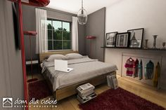 Projekt domu Wróbel - wariant A - Dom Dla Ciebie House Plans, How To Plan, Bed, Furniture, Home Decor, Home Plans, Blueprints For Homes, Homemade Home Decor, Stream Bed