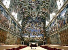 The Sistine Chapel in Rome