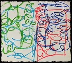 Bilateral Scribble Drawing: Self Regulation for Trauma Reparation - Art from collection of Cathy Malchiodi - Subscribe to Life's Learning's blog at: http://lifeslearning.org/ Facebook for Counselors: Facebook.com/LifesLearningForCounselors Twitter: @sapelskog. Facebook for Everyone: www.facebook.com/LifesLearningForEveryone