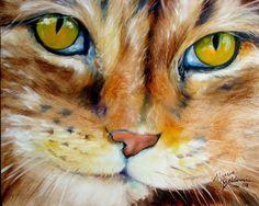 Art by Marcia Baldwin. #cats #art #cute