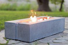 Avera Concrete Firepit by DEKKO Concrete - Modern - Firepits - Other Metro - Dekko Concrete Decor