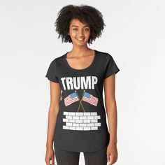 TRUMP 2020 election - Get yourself a funny custom desing from RIVEofficial Redbubble shop : )) .... tags: #president   #usa #donaldtrump  #funny #trump #buildawall #wall #humour #republican  #democrat #election #trump #2020 #findyourthing #shirtsonline #trends #riveofficial #favouriteshirts #art #style #design #nature #shopping #insidecollection #redbubble #digitalart #design #fashion #phonecases #access #customproducts #onlineshopping #accessories #shoponline #onlinestore #shoppingonline Tshirt Colors, Cap Sleeves, Looks Great, Fitness Models, Shirt Designs, T Shirts For Women, How To Wear, Style, Fashion