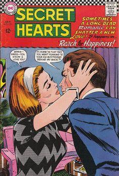 Captive Wild Woman: Secret Hearts Comics - Reach for Happiness! No. 121, July…