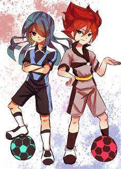Kazemaru and hiroto evil