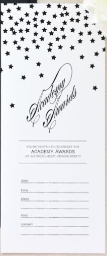 Academy Awards Invite_Twig & Thistle