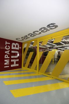 """Check out this @Behance project: """"Impact Hub Caracas"""" https://www.behance.net/gallery/20545733/Impact-Hub-Caracas"""