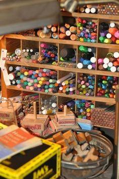 judi's studio #studio #art
