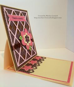 ~ Marilyn's Cricut Cards ~: MCCR - Easel Cards.  Cricut cartridges used- Wild Card, Forever Young.