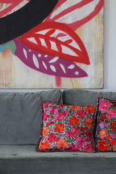 Detalhe Sofá - Apartamento Itaim - Obra Speto