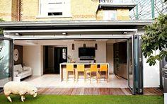 Puertas de cristal para el area del jardin | Curso de organizacion de hogar aprenda a ser organizado en poco tiempo