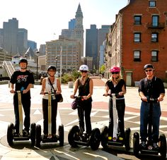 Tour Boston in a unique way with a Segway Tour