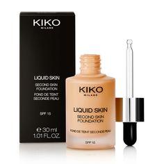 Fond de teint liquide - Liquid Skin Second Skin Foundation - KIKO Milano Teinte Cool Rose 20 (Type de teinte pr moi) :)