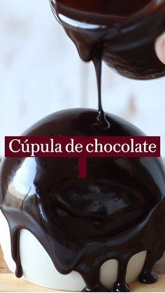 Cooking Chocolate, Best Chocolate, Chocolate Desserts, Raw Food Recipes, Cake Recipes, Dessert Recipes, Cooking Recipes, Cooking Restaurant, Banana Split